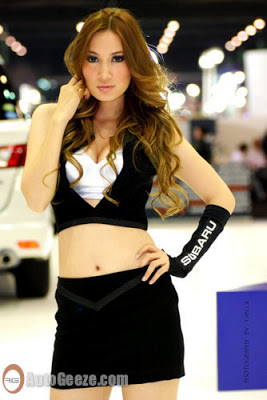 Auto Show Bangkok MotoExpo Car Girls: Part 2