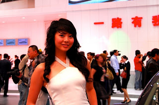 2010 Shanghai Motor Show Hot Girls