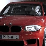 BMW 1-Series M Coupe teaser video