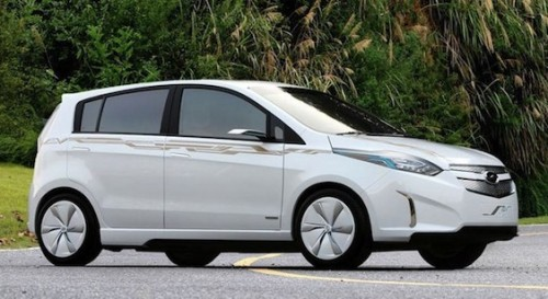 Chevrolet Sail Electric Car Concept