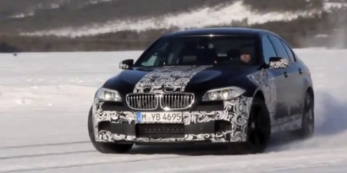 2012 BMW M5 with Chrix Harris