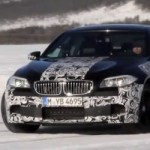 BMW M5 on Ice