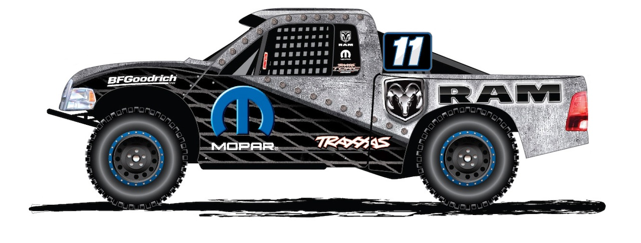 Mopar Ram Runner TORC Series (Sketch)