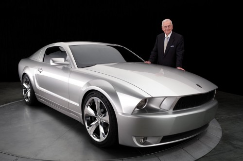 Lee Iacocca 2009 Mustang serial #001