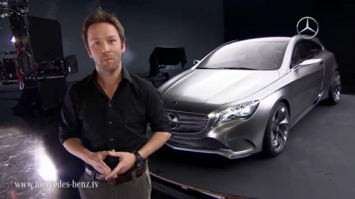 Mercedes-Benz Concept A with Mark Fetherston