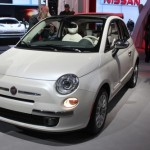 2012 Fiat 500C at the 2011 New York Auto Show