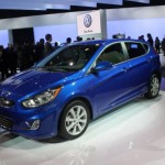 2012 Hyundai Accent at the 2011 New York Auto Show