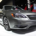 2011 Chrysler 200 S Sedan and Convertible at the 2011 New York Auto Show