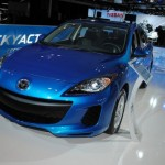 2012 Mazda3 at the 2011 New York Auto Show
