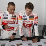 Hamilton and Button hand-picked photos for British Grand Prix exhibition