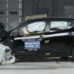 2011 Nissan LEAF First 100% EV to receive IIHS Top Safety Pick Award