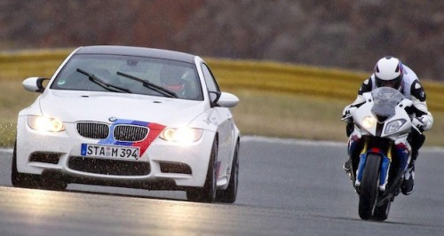 The Chase with BMW M3 vs. BMW S 1000 RR