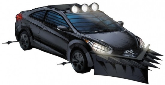 The Elantra Coupe Zombie Survival Machine