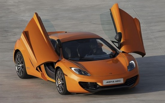 2013 McLaren MP4-12C Spider to debut at Goodwood