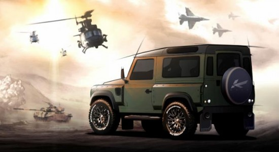 2012 A. Kahn Design Concept 17 Defender previewed